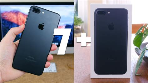 apple iphone 7 plus unboxing and impressions