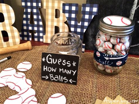 Baseball Baby Shower Decorations by Baseball Themed Baby Shower Aspen