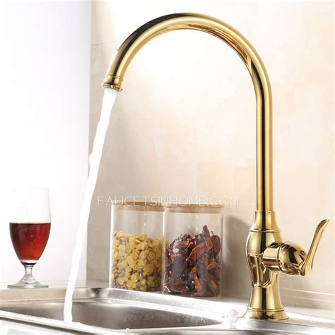 brass faucet kitchen golden brass kitchen faucets single single handle