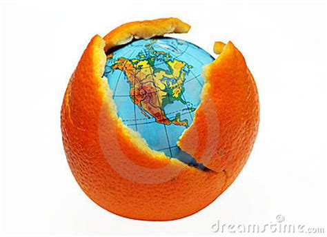 earthy orange earth in an orange stock photos image 12402423