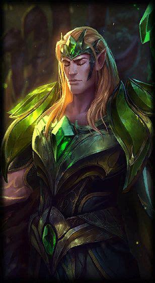 emerald taric league  legends fictional characters