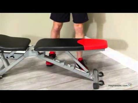 bowflex 3 1 weight bench bowflex selecttech 4 1 adjustable bench youtube