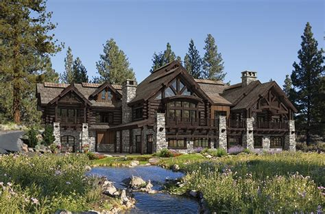 luxury log cabin home plans custom log homes luxury log precisioncraft luxury timber and log homes