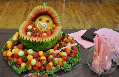design to shine fruit baby shower idea