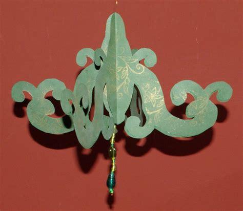 paper chandelier decoration 3d paper chandelier decoration tutorial