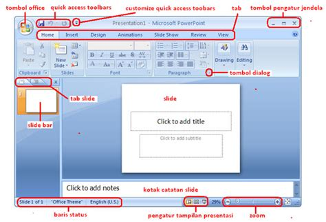 fungsi layout dalam microsoft power point contoh presentasi power point dengan ms power point 2007
