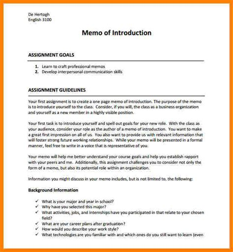 self introduction letter template 28 images 5 self