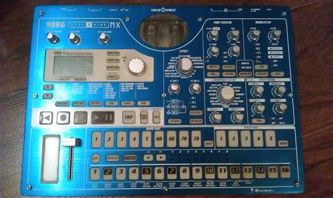 korg emx patternbank korg electribe emx1 image 311642 audiofanzine