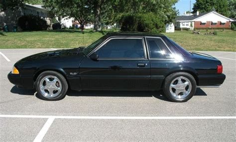 1990 mustang rims black 1990 ford mustang coupe mustangattitude photo
