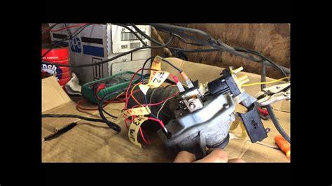 test gm wiper motor wiring  washer pump impala