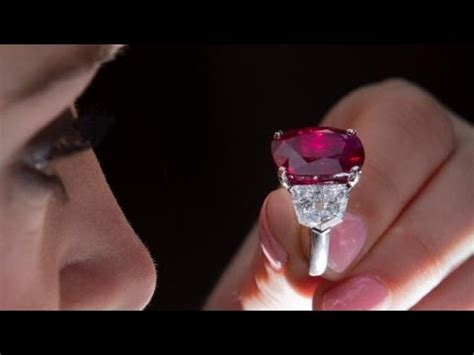 Ruby Burma 2 36 Ct Hq ruby sells for record 30 million at auction