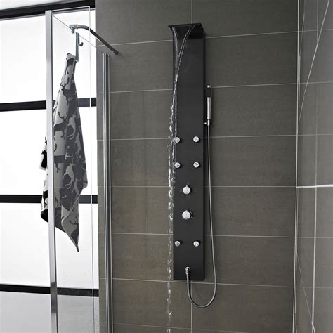 Shower Jet by Stainless Steel Thermostatic Shower Panel Faucet Jets