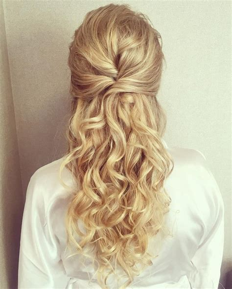 Wedding Hair Up Curls by Half Up Half Wedding Hairstyles Best Cuts Ideas