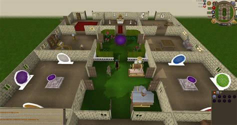 Basement Layout Design by 99 Construction Poh Layout Runescape