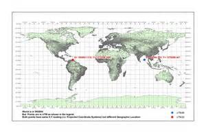 us map with coordinate grid coordinate system how to georeference a map in utm wgs