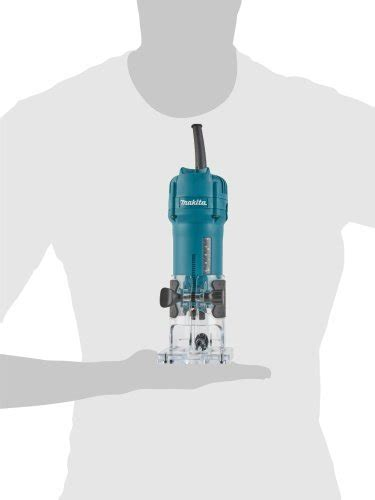 Makita Light Easy Trimmer 3709 makita 3709 1 4 inch 4 0 laminate trimmer