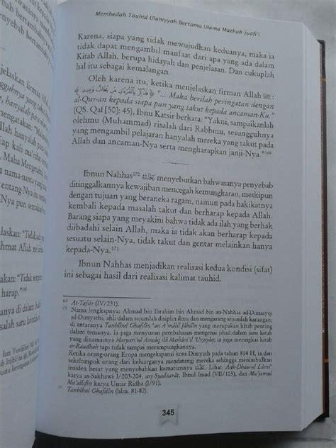 1 Set Kitab Tauhid Syaikh Ustaimin buku membedah kitab tauhid uluhiyyah bersama ulama mazhab syafi i