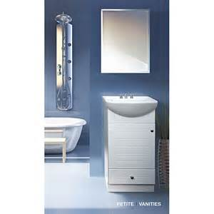 somette 18 inch wood white bathroom vanity ebay