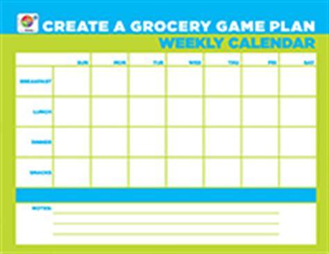 plan  weekly meals choose myplate