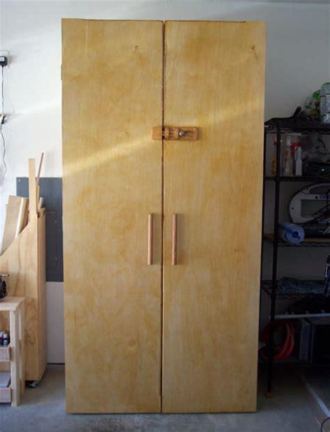 wood garage storage cabinets plans