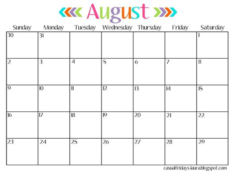 2016 Calendars Free August 2016 Calendar Printable Free Vertex 2017