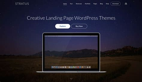 theme with page templates 40 best landing page themes for apps products