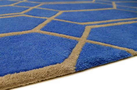 geometric rugs cheap geometric blue and beige rug rug couture rugs funkyrugs