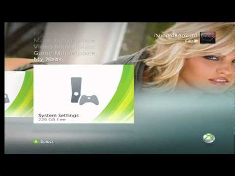 free themes girl hot xbox 360 theme sexy modded girls theme youtube
