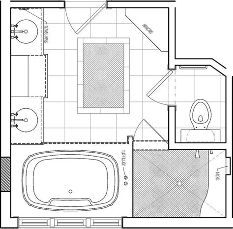 small master bath floor plans 25 best ideas about small bathroom plans on pinterest