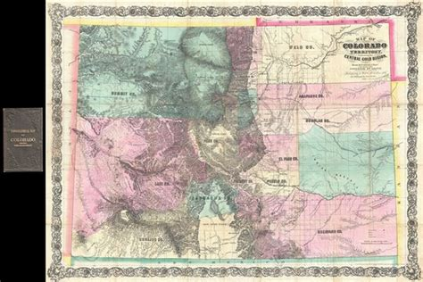 map of colorado gold map of colorado territory embracing the central gold