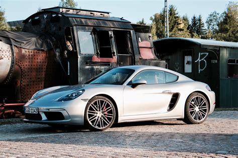 Test Porsche Cayman S by Dynamik Pur Porsche 718 Cayman S Mit Burmester Im Test