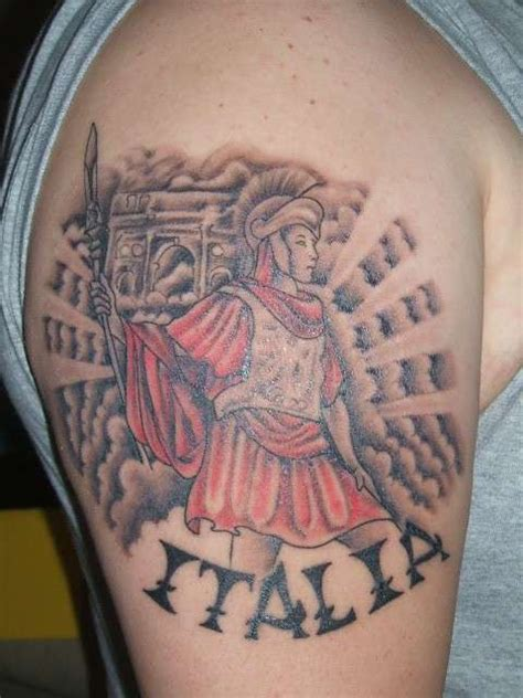 roman warrior tattoo designs soldier
