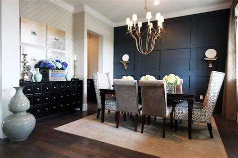 accent wall in dining room commanding a presence accent walls that make a statement