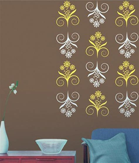 buy asian paints white plastic wall stencil at low price in india snapdeal