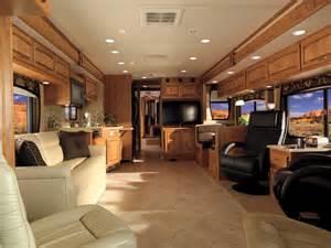 Fifth Wheel Rv Floor Plans 2009 holiday rambler neptune motorhome camper interior g