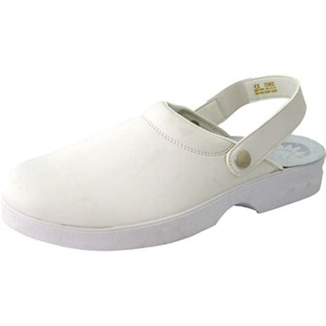 white clogs for womens click unisex slipper with belt a711 mammothworkwear