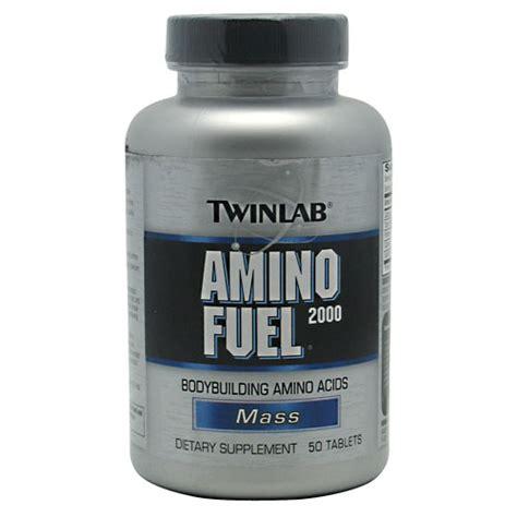 Murah Twinlab Amino Fuel Tab 2000mg 50 Tabs Protein Asam Amino twinlab mass amino fuel 2000