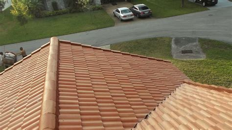 Barrel Tile Roof Flat Tile To Barrel Tile Roof Remodel Dscf3312 Roof Repairs New Roofs In Miami