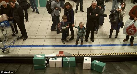 westjet airline makes passengers christmas wishes come