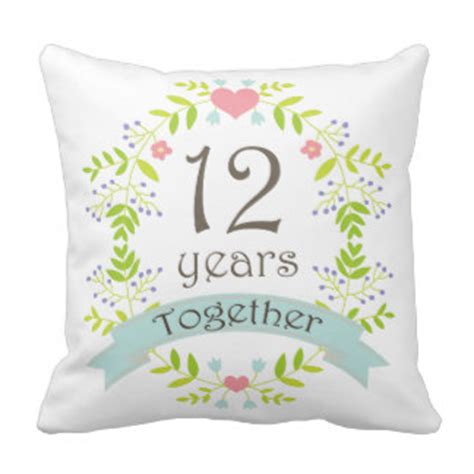 wedding anniversary ideas 12 years 12 year anniversary gifts t shirts posters other