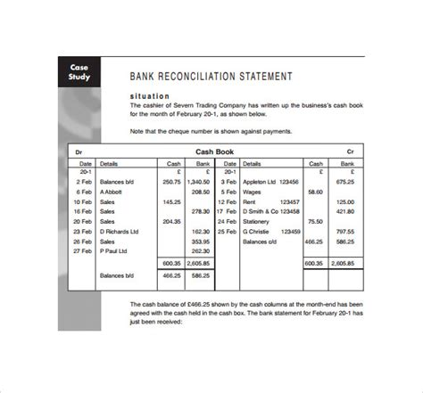Sle Bank Statement Template 13 Free Documents Download In Pdf Word Excel Bank Statement Template