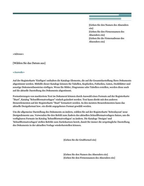 Vorlage Word Schreiben Serienbrief Schreiben Vorlage Zum Word 2013 Oder Neuer In Der Brief Vorlage