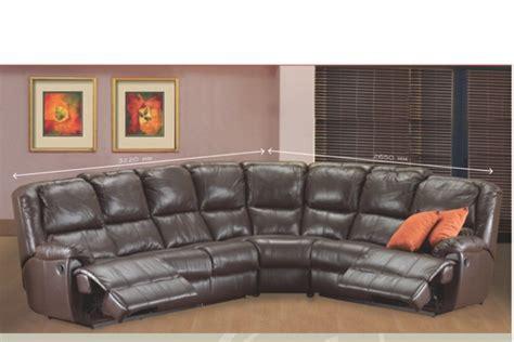 Corner Recliner Lounge Suites by New Home Furnishers 187 Hartford Recliner Corner Lounge