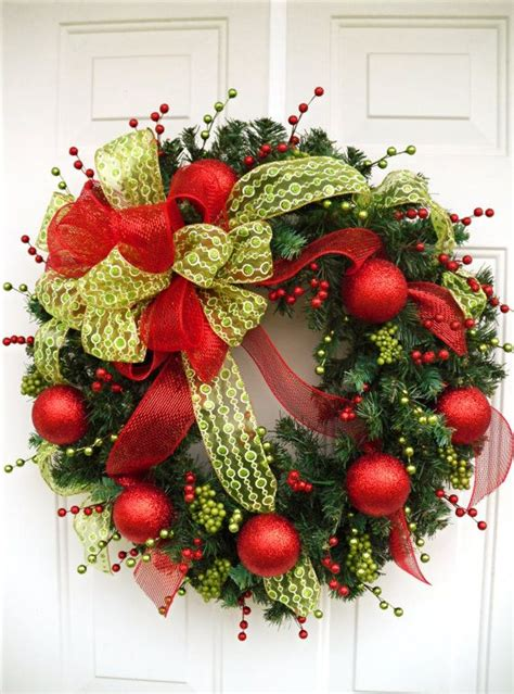 christmas wreath holiday wreath large wreath wreath