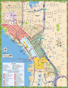 Seattle Attractions Map by Seattle Tourist Map