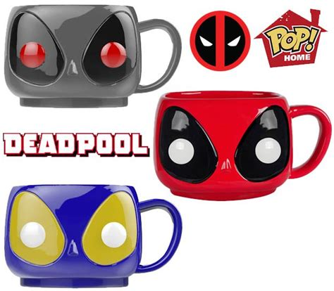 Funko Pop Home Deadpool Mug canecas funko pop deadpool de brinquedo howldb