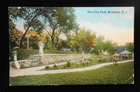 Gardens Of Bridgehton by 1914 New City Park Bridgeton Nj Cumberland Co Postcard New