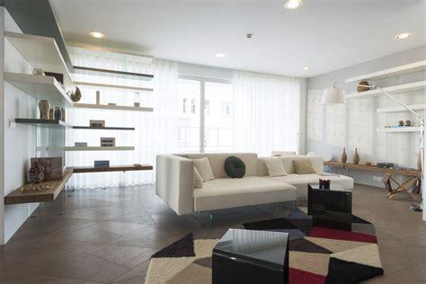 appartamento lago wallpaper a trompe l oeil design