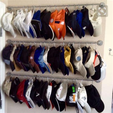 hat hanger ideas hat storage organization home organization pinterest