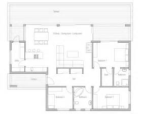 build house floor plan affordable home plans economical house plan ch140